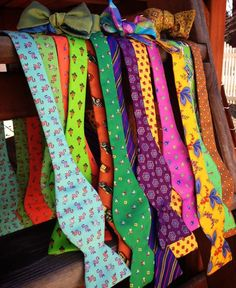 Carrot & Gibbs bow ties