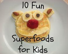 10 cute ideas to help kids eat healthy in a fun way!