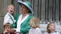 Diana e seus filhos