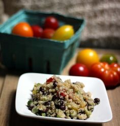 Recipe: Black Bean And Heirloom Tomato Quinoa With Lemon Dressing — Six Ingredients (and Salt)
