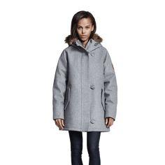 W3071Q% Fishtail Parka, Winter Wardrobe, Winter Season, Hand Warmers, Superga, Wool Blend, Shop Now, Raincoat, Winter Jackets