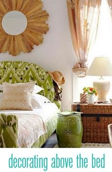 10 things to hang above a bed