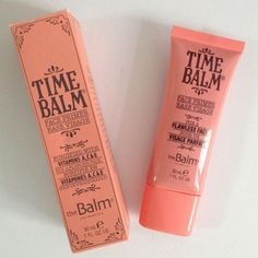 Cheap makeup yellow, Buy Quality primer eyeshadow directly from China makeup sample Suppliers: 2015 New The Fine Lines Pore Makeup Time Balm Face Primer to Minimize Concealer Liquid 30ml theBalm New in Box
