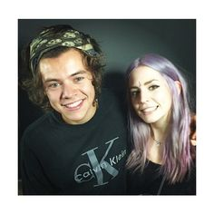 We Heart It ❤ liked on Polyvore featuring one direction, harry styles, harry, 1d family and gemma