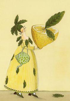 Kräutersamenkarte / Blumensamenkarte Zitronenmelisse / Silke Leffler