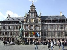 The Main Market Square of Antwerp
