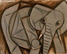 Drawn cubism famous #4