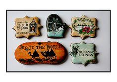 Beautiful painted cookies