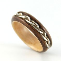 wooden wedding rings for an eco friendly wedding - Wooden Wedding Rings For Men