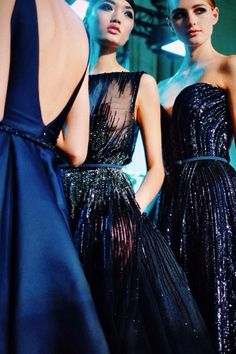 royal blue #dresses :: Fall 2013 Haute Couture collection by Elie Saab