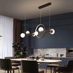 Chandelier In Living Room, Led Chandelier, Dining Room Lighting, Home Lighting, Modern Lighting, Table Lighting, Pendant Lamp, Farmhouse Pendant Lighting, Modern Pendant Light