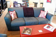 Yes, you read the title correctly! We have a customer, Denise, that used Annie Sloan Chalk Paint on her leather couch and chair! We couldn. Paint Leather Couch, Painting Leather, Leather Sofa, Chalk Paint Furniture, Find Furniture, Furniture Makeover, Furniture Ideas, Leather Restoration, Paint Upholstery