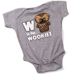 """Wookie Onesie: """"With this cotton garment, your tyke can both speak  and live with the Wookies out on Kashyyyk.    Your little one can fly spacecrafts in accepted defiance  by joining the fight with the Rebel Alliance.    Then you can scoop them back up when their fighting is through  And put them to sleep, your little Lumpawaroo."""""""