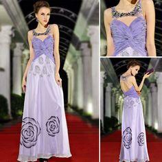 Evening Dresses Lilac