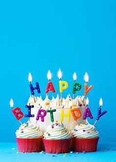 Birthday Cake with Happy Birthday