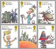 Gli inglesi possono affrancare le loro lettere coi francobolli illustrati da Quentin Blake...invidia...