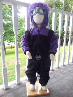 New and Improved Custom Crazy Evil Purple Minion by RCD Boutique