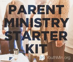 Jump start your parent ministry this fall with this awesome starter pack of resources!