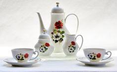Vintage Tirschenreuth Bavarian China Set by BonAppetitAntique on Etsy