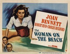 Poster The Woman on the Beach, film de Jean Renoir, 1946
