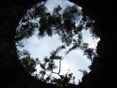 through the eye of a sugar mill - St. Croix USVI