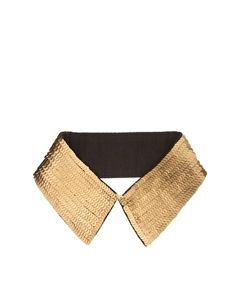 Enlarge ASOS Gold Sequin Collar