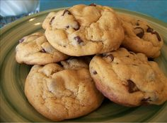 Seriously the BEST choclate chip cookies I've ever made or tasted. Nice and soft and soooooooo delicious. A must try. They never last at my house:) Soft Chocolate Chip Cookies from food.com