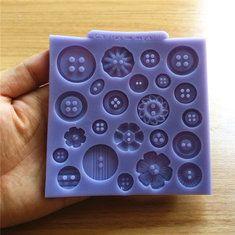Bac à glaçons facile push out silicone fond souple Moule Gelée Chocolat Wa