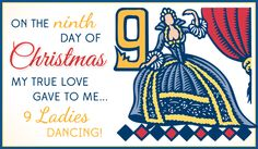 Free 9 Ladies eCard - eMail Free Personalized Christmas Cards Online