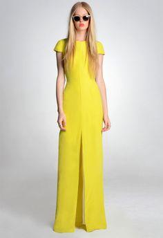 #yellow dress.  yellow dress #2dayslook #yellow style #yellowfashiondress  www.2dayslook.com
