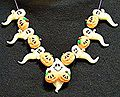 Pumpkin And Ghost Clay Necklace - 2008 Makin's Clay® - Welcome to Makin's Clay