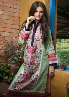 Buy Sea Green Color Pure Cotton Resham Work Kurtis Online – Fashionic: Indian Ethnic Wear