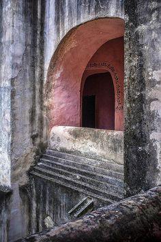 Monasterio de San Bernardino de Siena, Valladolid, Yucatan, Mexico. | Flickr - Photo Sharing!