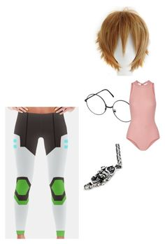 """Untitled #503"" by the-mighty-fail on Polyvore featuring Han Cholo and Ballet Beautiful"