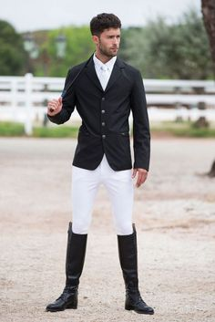 Horseware Mens Woven Competition Jacket Medium Best Picture For Equestrian Fashion runway For Your Taste You are looking for something, and it is going to tell you exactly what you are looking for, an Men's Equestrian, Equestrian Outfits, Equestrian Fashion, Mens Riding Boots, Riding Gear, Horse Riding Boots, Cowgirl Boots, Western Boots, Show Jackets
