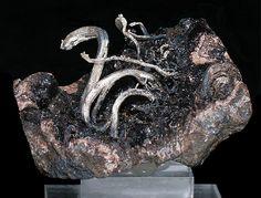 Peruvian Native Wire Silver on matrix