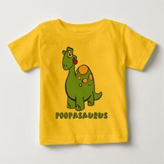 Poopasaurus Infant Tee by Kiddo Klothes on Zazzle @zazzle #baby #clothes #jumper #apparel #fashion #fun #sweet #awesome #buy #shop #sale #cute #toddler #newborn #shower #gift #babyshower #idea #giftidea #mom #expecting #children #cool #shirt #tee #t-shirt #tshirt