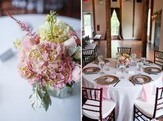 pink gray reception decor Shahanna & Brian | Stevenson Ridge Wedding » Carley Rehberg Photography