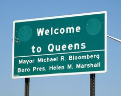 Welcome to Queens, New York City