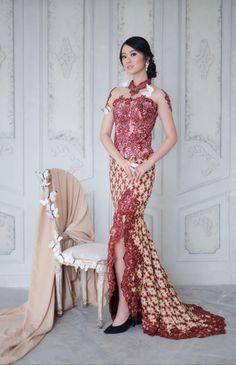Kebaya Muslim, Dress Brokat Muslim, Kebaya Modern Hijab, Dress Brokat Modern, Gaun Dress, Kebaya Dress, Vera Kebaya, Kebaya Bali, Batik Kebaya