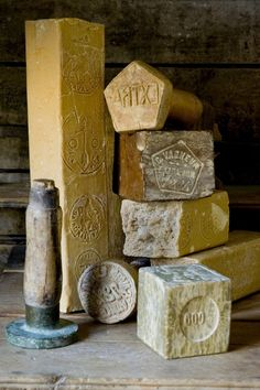 Old soaps from Rampal Patou