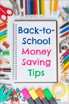 12 Back-To-School Money Saving Tips. A new school year can bring on a new set of expenses. However, with a little careful planning you can purchase what your kids need without busting your budget.