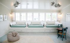 built-in beds/storage; Habitually Chic®: Bon Weekend