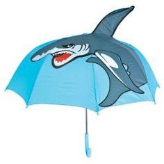 "14.07$  Buy now - http://viavs.justgood.pw/vig/item.php?t=and4ylp9985 - 27"" Kids Shark Umbrella Child's Boy Girl Umbrellas 14.07$"