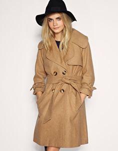 ASOS Belted Wool Coat