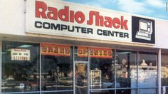 We're all going to miss RadioShack. For me, the company's bankruptcy filing brings up memories of my week as a camper — at RadioShack Computer Camp. Advertising Signs, Vintage Advertisements, Puerto Rico, Old School Radio, My Childhood Memories, 1970s Childhood, Good Ole, Do You Remember, Back In The Day