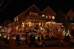 Christmas Lights at Dyker Heights, Brooklyn