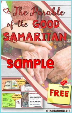 This is a free sample version of 'The Good Samaritan Presentation and Activities'. Please feel free to download it so that you may make a reasonable judgement as to whether this would be appropriate for your students. #freebie #tesresources #Christianity #sample #presentation #activities #parables #thegoodsamaritan