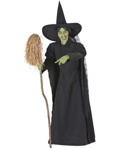 Life-size Animated Wicked Witch of the West Halloween prop Halloween Witch Decorations, Halloween Items, Spirit Halloween, Scary Halloween, Halloween Humor, Yard Decorations, Halloween 2014, Halloween Costumes, Christmas Decorations