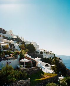 Perivolas Santorini, Greece. One of the top-rated hotels in the world.